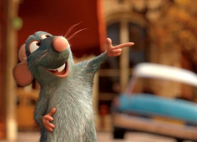 RATATOUILLE, Remy (voice: Lou Romano), 2007. ©Walt Disney Co./courtesy Everett Collection